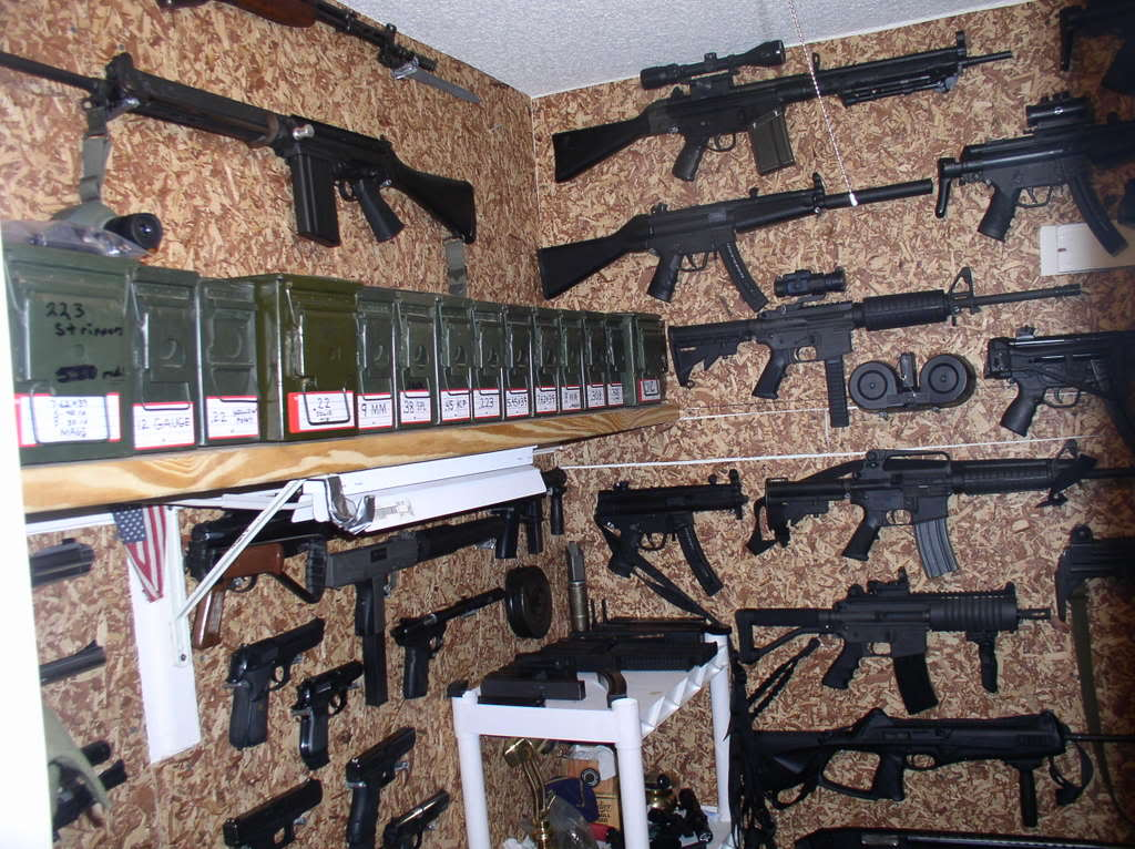No School Grognard: Ammo Dumps and Gun Closets