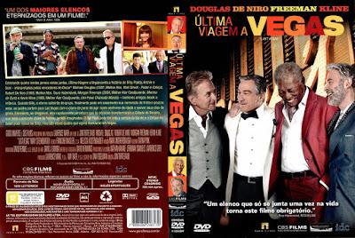 Filme Última Viagem a Vegas (Last Vegas) DVD Capa