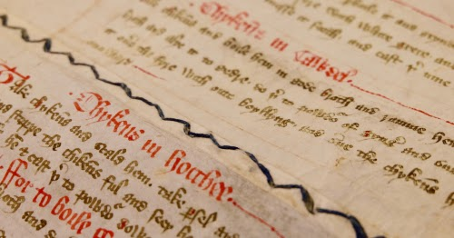 Calligraphy Southscribes Inc Forme Of Cury A Medieval
