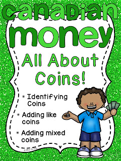Canadian coins money unit with so many money and counting coins activities for Canadian coins