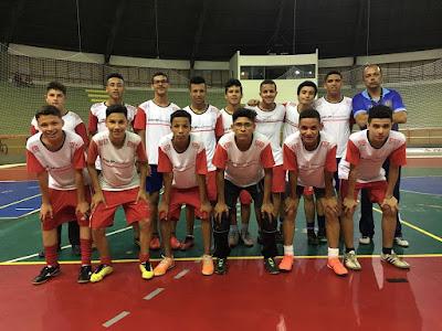 Futsal Sub-16 de Registro-SP vai para as finais da Copa Estadual