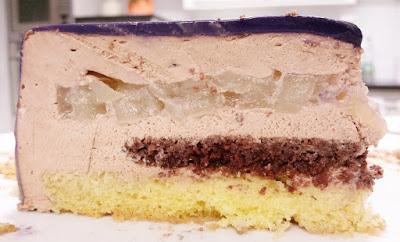 Mousse Cake mirror glaze