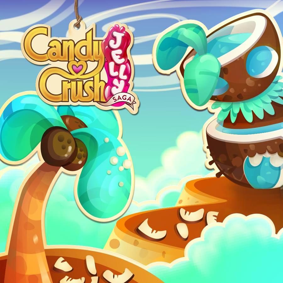 Candy Crush Jelly Saga Saga 341-360