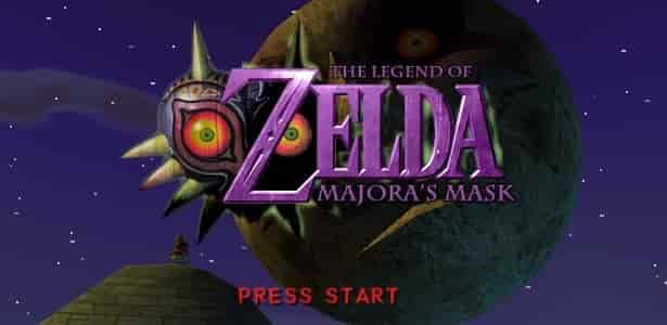 juego de Legend of Zelda 2 Majoras Mask 64 en Español Nintendo 64
