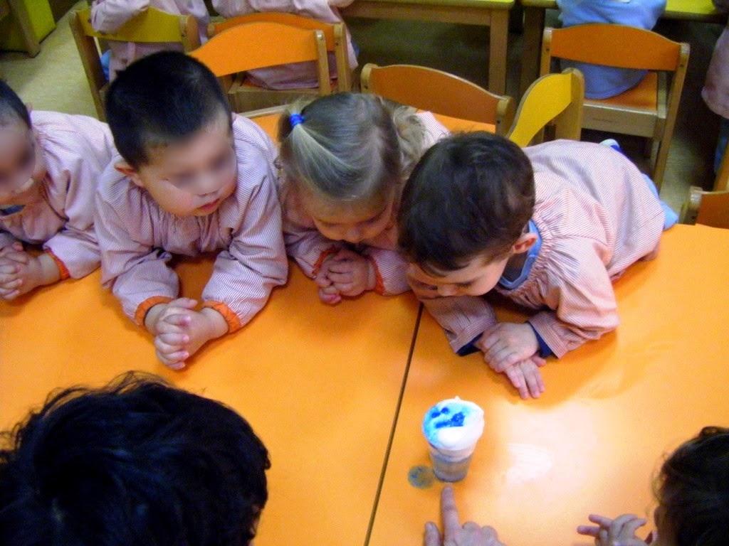 Experimentos para niños de 0 a 3 años