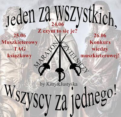 MUSZKIETEROWY TAG KSIĄŻKOWY!!!