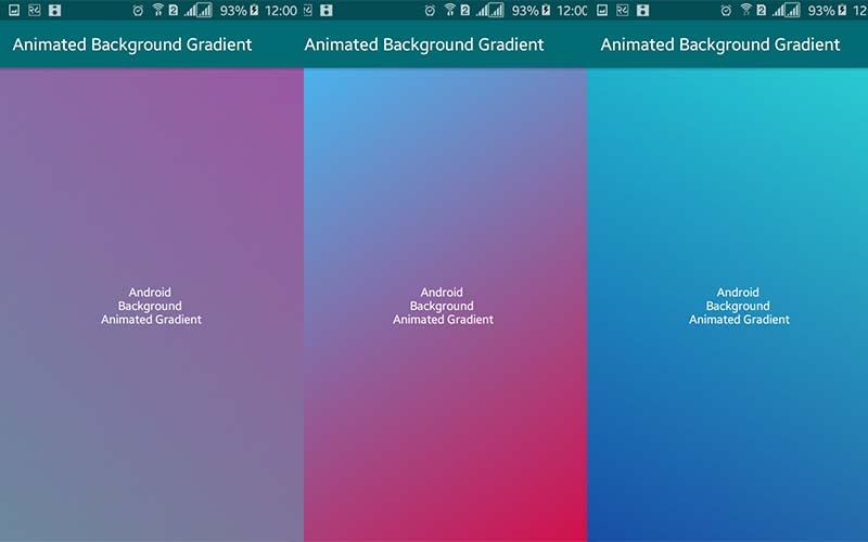 Animated Gradient Background in Android | Viral Android