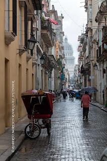 Llueve en La Habana
