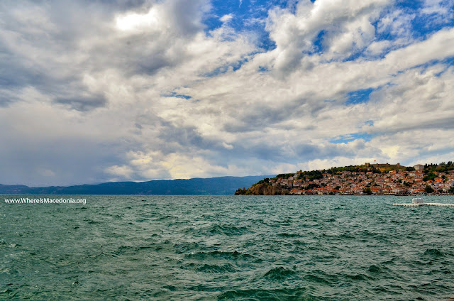 Ohrid Lake - largest natural lake in Maceonia