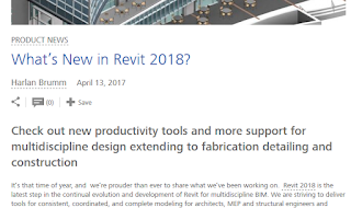 Revit 2018 New Features and Download Links