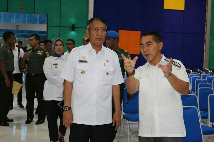 Kesiapan Penyambutan Kunjungan OASE Kabinet Kerja ke Lampung Mencapai 80%