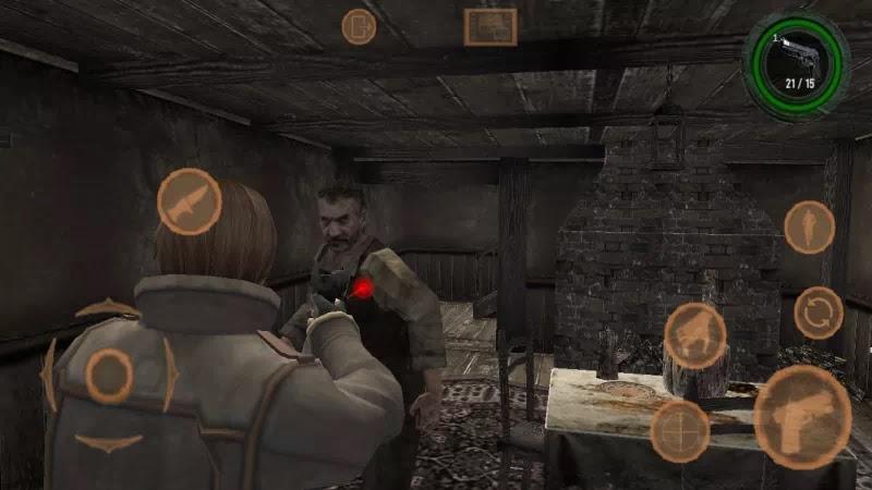 Resident evil 4 mobile apk hack   Resident Evil 4 Android