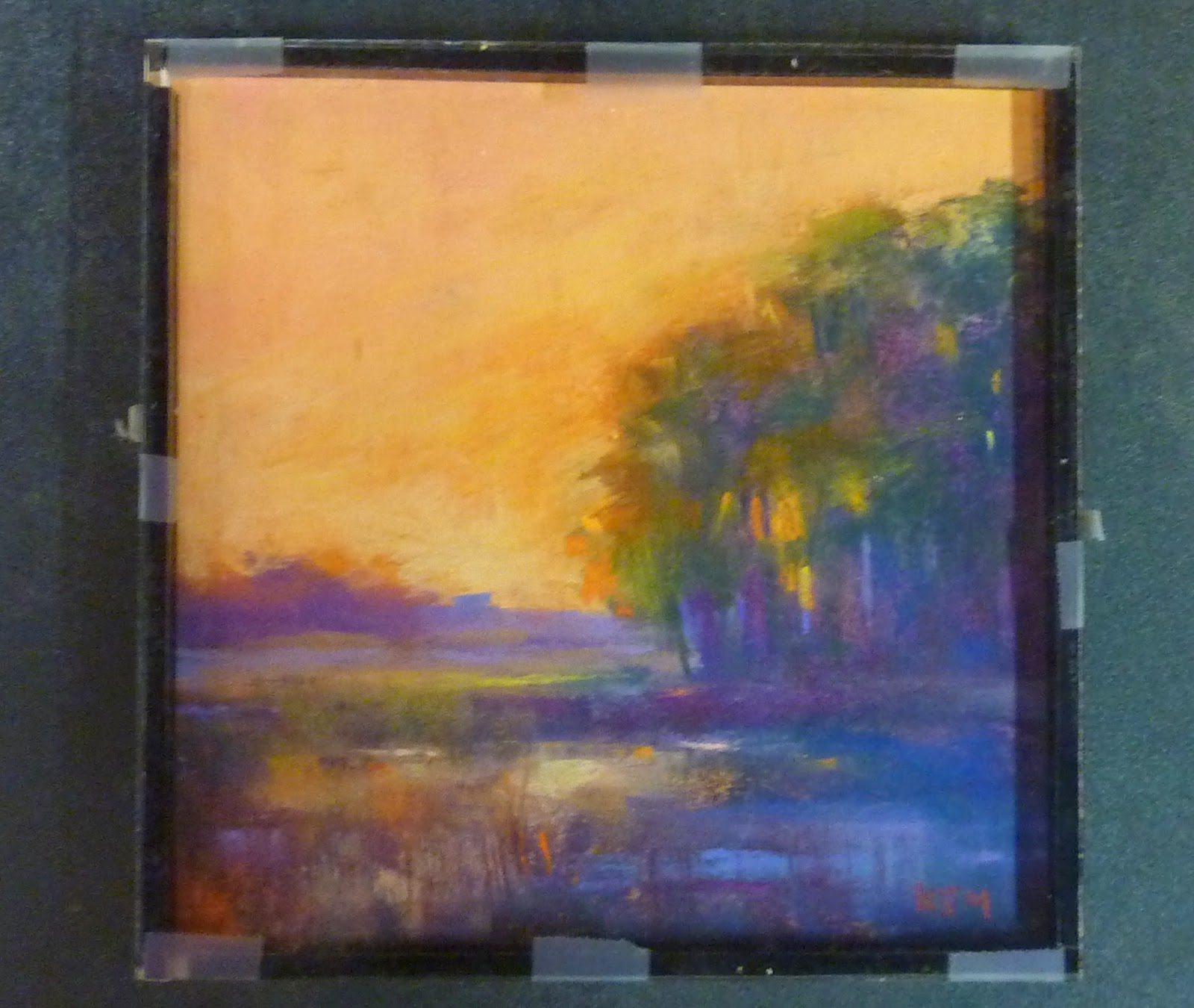 Painting My World Framing A Pastel Painting With Spacers