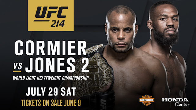 UFC 214: Cormier vs. Jones 2