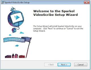 Videoscribe Setup Wizard