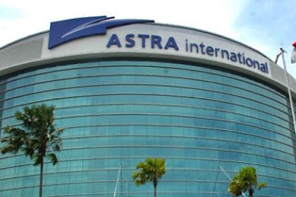Info Lowongan Kerja PT. Astra International Tbk Paling Baru April-Mei 2018 Butuh Karyawan/ti Sebanyak 250 Orang