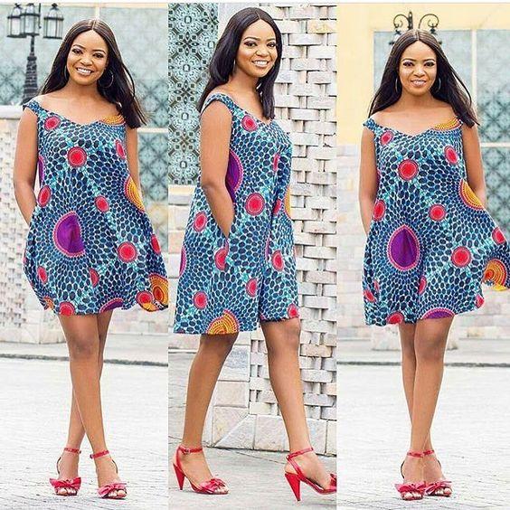 African Print Fancy Maternity Dresses: Latest Ankara Short Dresses 2019 For Smart Ladies