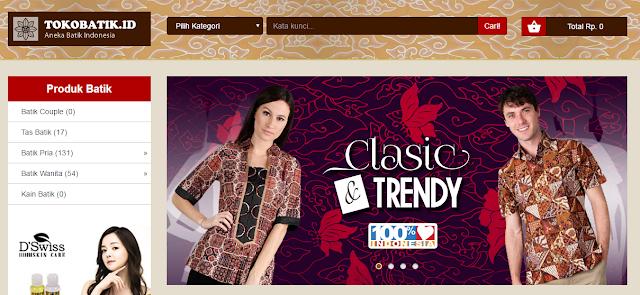 Toko Batik Online Beraneka Motif Terlengkap se-Indonesia
