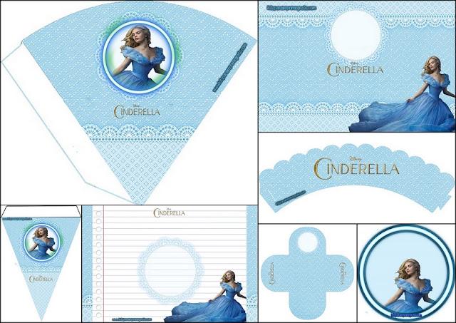 Película de Cenicienta: Mini Kit para Imprimir Gratis.