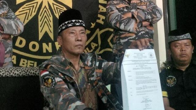Ketua  GMBI Memecat Kapolda Jabar sebagai dewan Pembinanya