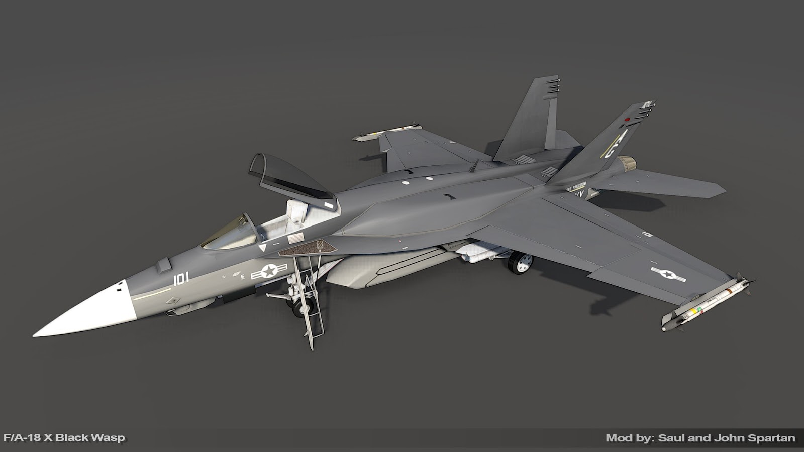 f a 18 super hornet f a 18x black wasp arma 3 mod. Black Bedroom Furniture Sets. Home Design Ideas