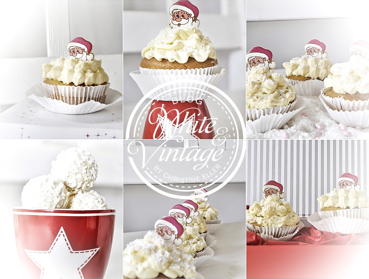 Weihnachtsbäckerei - Rezept Apfelgelee Cupcakes