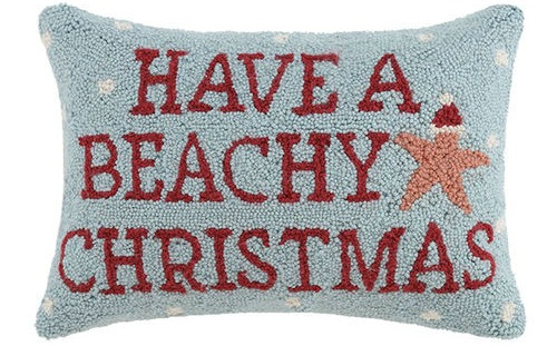 Have a Beachy Christmas Pillow