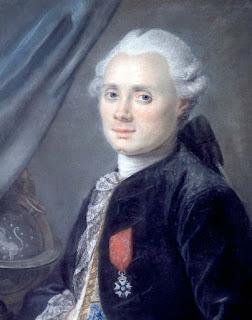 Chân dung Charles Messier ở tuổi 40. Họa sĩ: Ansiaume (1729 - 1786).