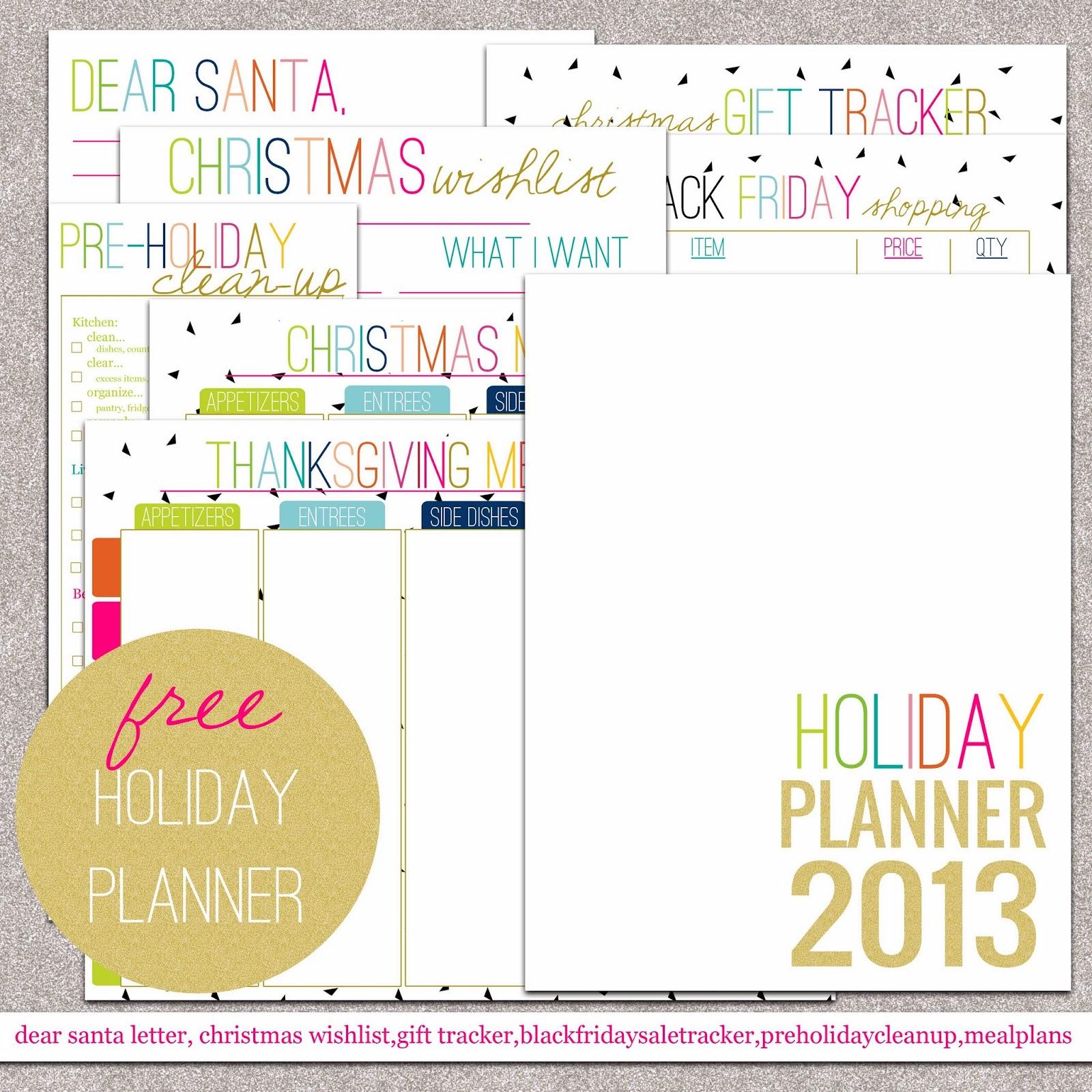 Christmas In July Christmas Planning Printables Printable