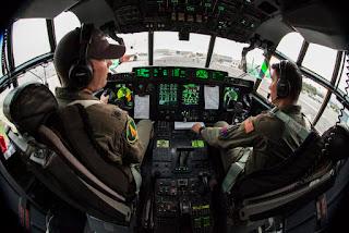 Kokpit  C-130