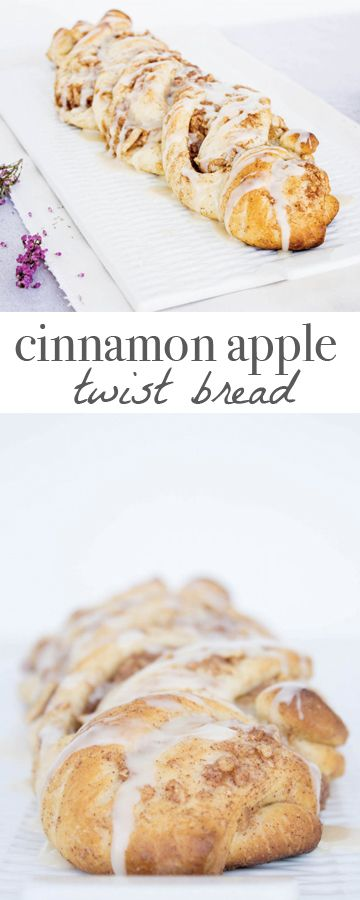 Cinnamon Apple Twist Bread