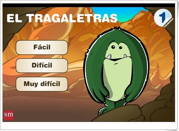 """""""El tragaletras"""" (Juego de ortografía y vocabulario de Primaria"""""""