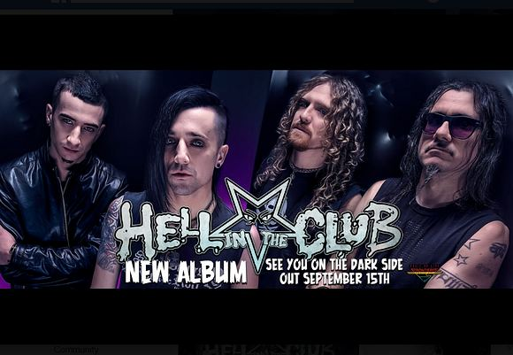 HELL IN THE CLUB - See You On The Dark Side (2017) inside