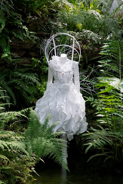 Anna Loosli White Tyvek Dress