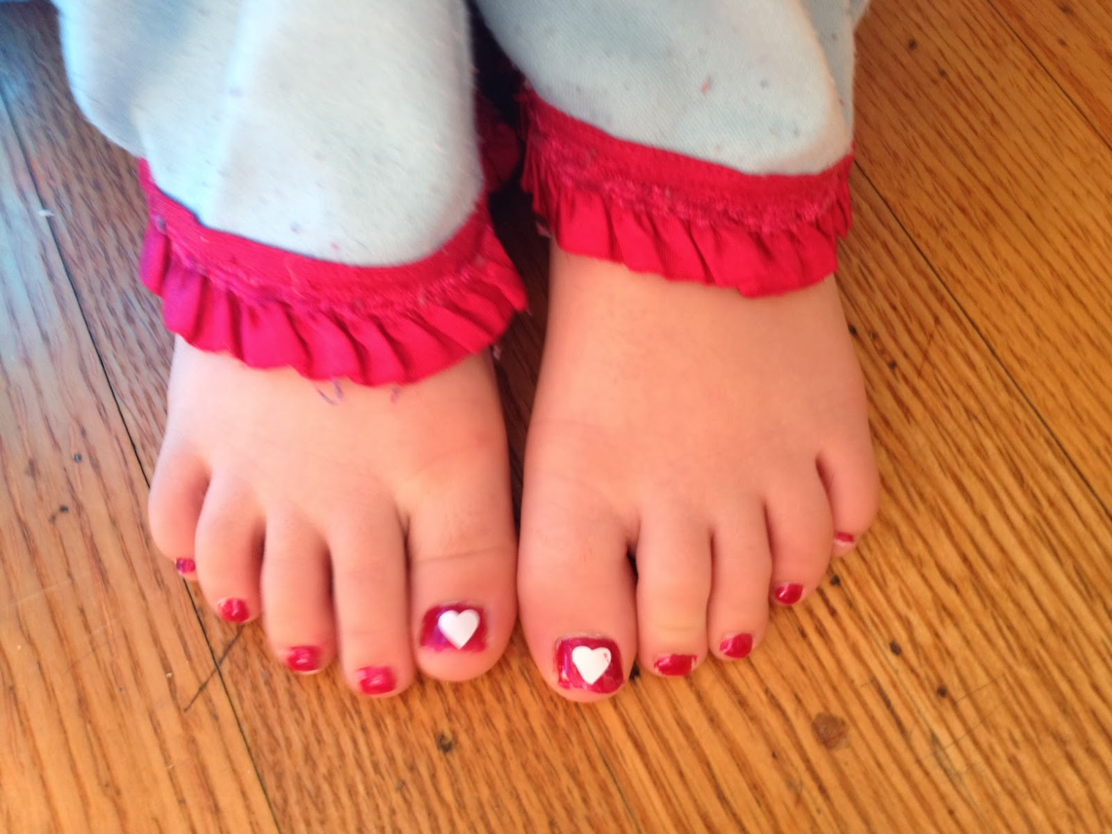 vinyl nail art decal sizing kids toenails valentines day