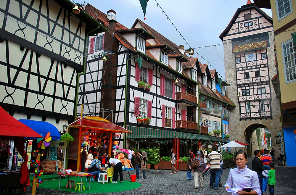 French Town in Malaysia