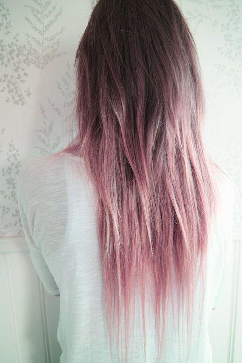 la moda en tu cabello ombre pink hair pelo rosa estilo. Black Bedroom Furniture Sets. Home Design Ideas
