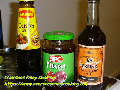 Sweet and Sour Shrimps - Ingredients