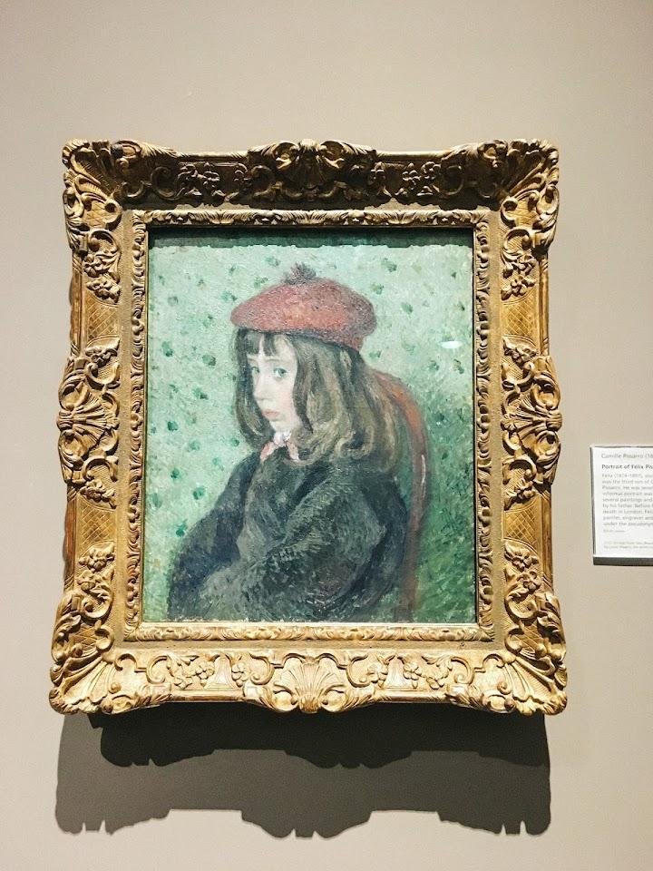 フェリックス・ピサロの肖像(Portrait of Félix Pissarro)1881年