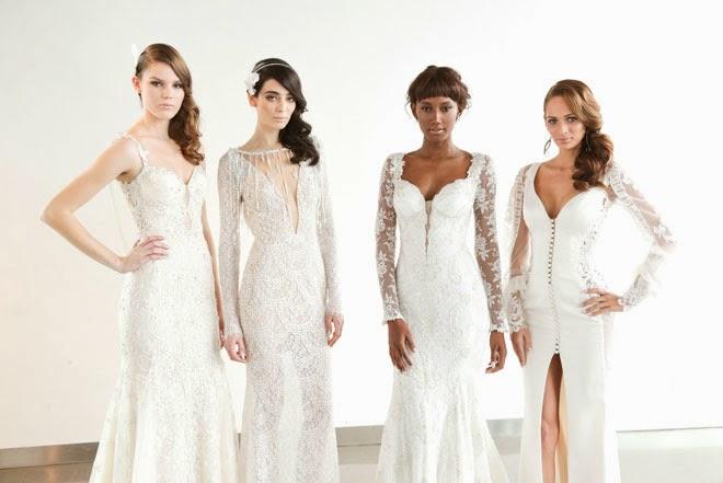 Galia Lahav Spring 2015 : La Dolce Vita wedding dresses