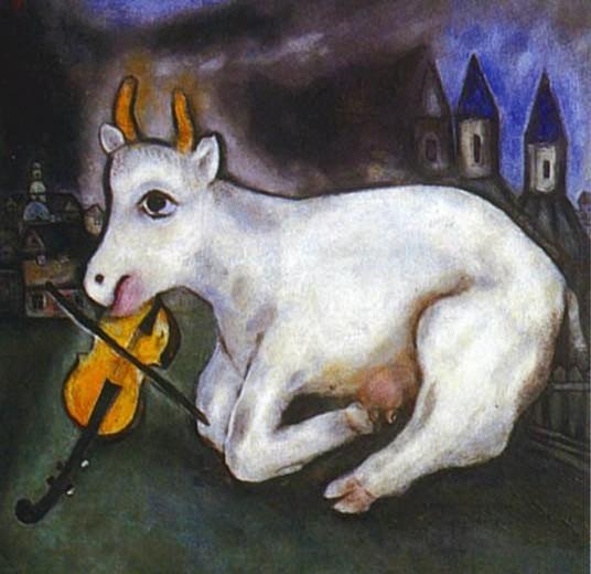 La felicità non è felicità senza una capra che suona il violino