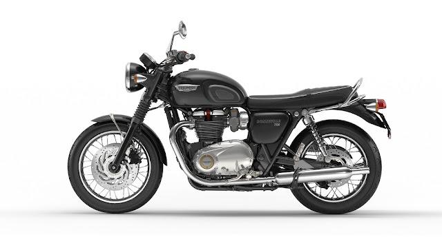 Triumph Launches All New Bonneville T120