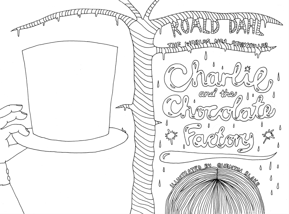 1000 images about charlie the chocolate factory on for Charlie and the chocolate factory coloring pages