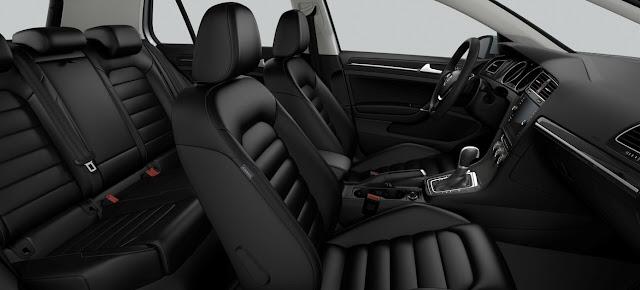 VW Golf 2018 Highline TSI Automático - Básico - interior