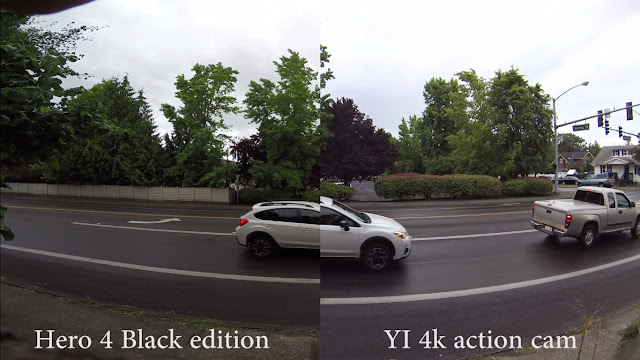 YI 4K Action Camera first impressions and Hero 4 Comparison.