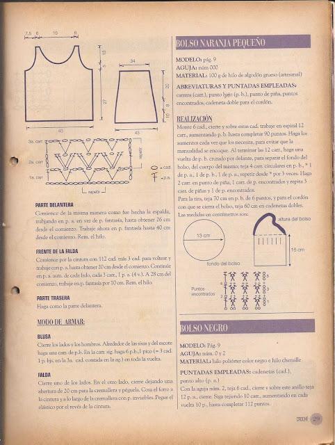 Medidas de bolso
