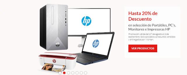 Top 5 ofertas promoción Hasta 20% de descuento HP de Worten