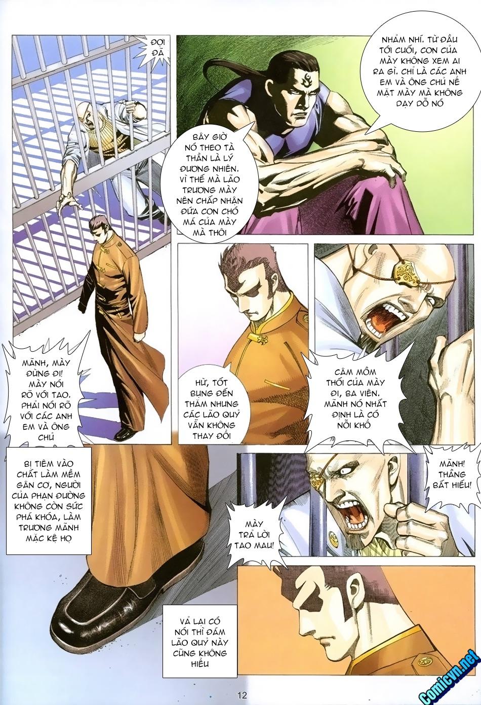 Xích Trụ Phạn Đường chap 21 - Trang 10