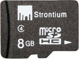 Strontium MicroSD Card 8 GB Class 4 just for Rs.180 Only with Free Home Delivery at Flipkart (Get 5% Extra Off)