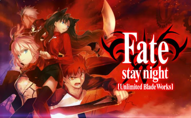 Top Sword Anime Series ( Where the Main Character Uses a Sword) - Fate/Stay Night Unlimited Blade Works